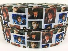 "BTY 1"" Movie Harry Potter Photos Grosgrain Ribbon Hair Bow Scrapbooking Lisa"