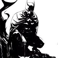 """BATMAN Signed ART PRINT Dustin Nguyen SDCC 2016 Gargoyle 18 x 12"""" DC COMICS New"""
