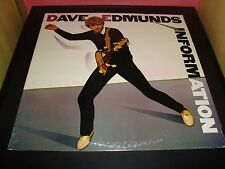 "Dave Edmunds ""Information"" 12"" Vinyl Record Album Columbia FC 38651 VG+ 1983"