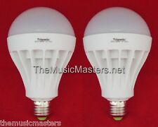 2X LED Light Bulb 15W Lamp=125W Oversized Replacement 600 Lumens White Daylight