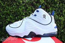 NIKE AIR PENNY II 2 SZ 12 ORLANDO MAGIC WHITE ROYAL BLUE BLACK 333886 100
