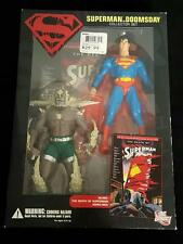 Superman vs Doomsday Collector Set - DC Direct - New In Box