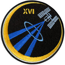 International Space Station - Expedition 16 - Embroidered Patch 10cm Dia