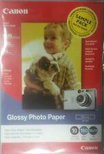100 Feuilles CANON 0046W192 GP-401 Papier photo glacé 10x15 cm A6 190g m² *NEUF*