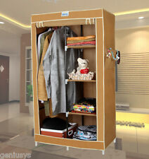 India's No.1 CbeeSo Portable Foldable/Folding Wardrobe Cupboard Almirah CB220-BG