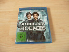 Blu Ray Sherlock Holmes - Robert Downey Jr. & Jude Law - 2009/2010