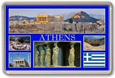 FRIDGE MAGNET - ATHENS - Large - Greece TOURIST