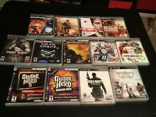 """LOT 13 PS3 Playstation Games Lot """"Excellent Condition"""""""