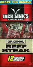Jack Link's Original BEEF Steak 12 Individually Wrapped Sticks