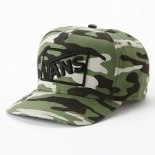 NEW Vans Box Camo Snapback Cap Hat