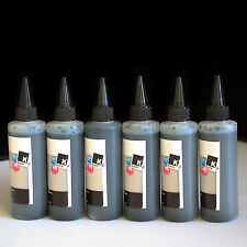 600ml Black Refill bulk Ink HP02 CISS for HP D7268 D7355 D7360 D7460 C7180