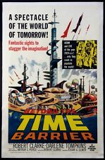 BEYOND THE TIME BARRIER EDGAR ULMER SCIENCE FICTION 1959 1-SHEET