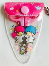 Vintage Sanrio Little twin stars Mini Scissors W Case Keychain 1976 1996