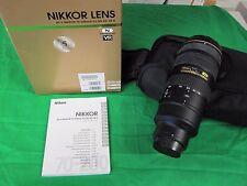 NIKON 70-200mm F/2.8G ED VR II AF-S Full Frame NIKKOR Zoom Lens