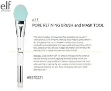 e.l.f. PORE REFINING BRUSH and MASK TOOL NEW