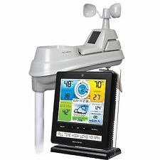 AcuRite Pro Color Weather Station Rain Wind Temperature Weather Ticker