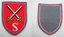 G072 WEST GERMAN BUNDESWEHR PATCH ARMY PANZER SCHOOL