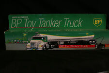 BP TOY TANKER TRUCK - BATTERY OPERATED REMOTE CONTROL TANKER - MINT IN BOX (MIB)