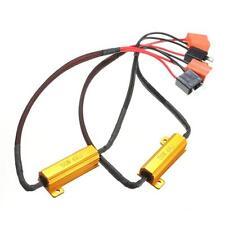 2X H7 50W 6 Ohm-Auto-LED DRL Nebbia Resistenza di carico indicatore Canbus