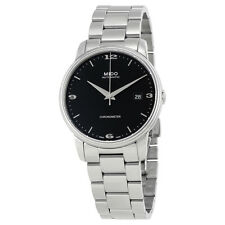 Mido Baroncelli III Black Dial Automatic Mens Watch M0104081105190