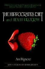 The Hippocrates Diet and Health Program by Ann Wigmore New Paperback WH4739