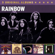 Rainbow 5 ORIGINAL ALBUMS Box Set DOWN TO EARTH Long Live Rock & Roll NEW 5 CD