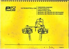 PZ GREENLAND HAYBOB STRELA 380 PARTS MANUAL - AB2