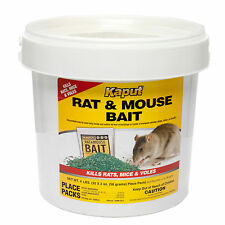 Vole Killer Bait ( 32 Packs ) Rat Bait Mouse Bait Vole Bait Warfarin Rodenticide