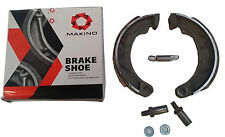 LAMBRETTA BRAKE SHOES KIT FRONT OR REAR LI TV SX MAKINO SPRING PIVOT PINS PAIR