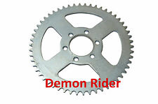 MINI MOTO 54 TOOTH WIDE PITCH NON STANDARD FIT REAR DRIVE CHAIN SPROCKET SILVER