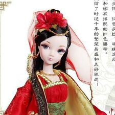 Pretty China Ancient Wedding Dress Doll Of Kurhn Chinese Barbie Doll Figure Toy