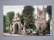 R&L Postcard: Church of St Nicholas Newbury, Valentine's