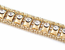 Oro diamante/diamond señoras Cintura chain/charm Belt - One Size Fits All - 511