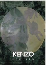 Publicité Advertising 2002 Haute Couture Kenzo Foulard