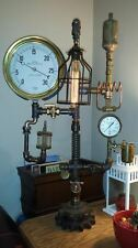 Steampunk Lamp Machine Steam Gauge Art(Huge)Comercial size/quality Resturant Bar