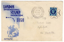 (I.B) Cinderella Collection : London Stamp Exhibition Cover (1950)