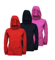 Regatta Kids Packaway Jacket Waterproof & Breathable Kids Raincoat Pack a mac