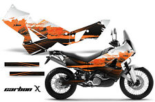 AMR Racing KTM Adventurer 990 Graphic Kit Street Bike Decal Wrap 06-14 CRBNX ORG