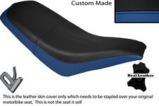 BLACK & ROYAL BLUE CUSTOM FITS KAZUMA FALCON 110 150 250 ATV QUAD SEAT COVER