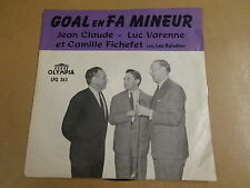 VOETBAL FOOTBALL 45T SINGLE OLYMPIA / LUC VARENNE &... - SPORTING ANDERLECHT