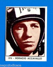 # CAMPIONI DELLO SPORT 1966/67 - Figurina/Sticker n. 376 - ACCAVALLO -Rec