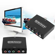 NEW 1080P HDMI to 5RCA Component RGB YPbPr Video +R/L Audio Converter Adapter