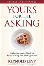 Yours for the Asking by Reynold Levy Paperback Fundraising Nonprofit Guide