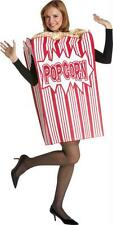 ADULT MOVIE NIGHT BOX OF POPCORN  FOOD COSTUME GC7159
