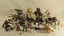 Huge Lot Fantasy & Medieval Papo Schleich Knights Horses 3 Headed Dog Bird
