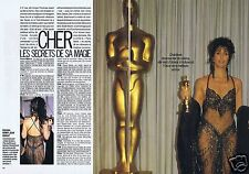 Coupure de presse Clipping 1988 Cher  (4 pages)