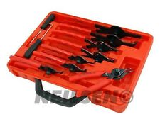 11pc Mechanics Internal & External Circlip Plier Tool Set Snap Ring Pliers New