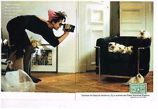 Publicité Advertising 1986 (2 pages) Carte American Express ...les chats