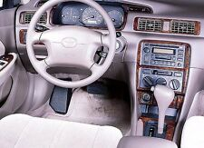 TOYOTA CAMRY CE LE XLE INTERIOR WOOD DASH TRIM KIT FIT 1997 1998 1999 2000 2001