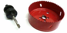 Pop Up Power Pod 102mm Hole Cutter Unit Saw for UK Mains USB Outlet Drill